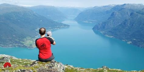 Molden Gipfel Norwegen