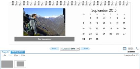 Den Outdoorkalender ganz einfach zusammenstellen